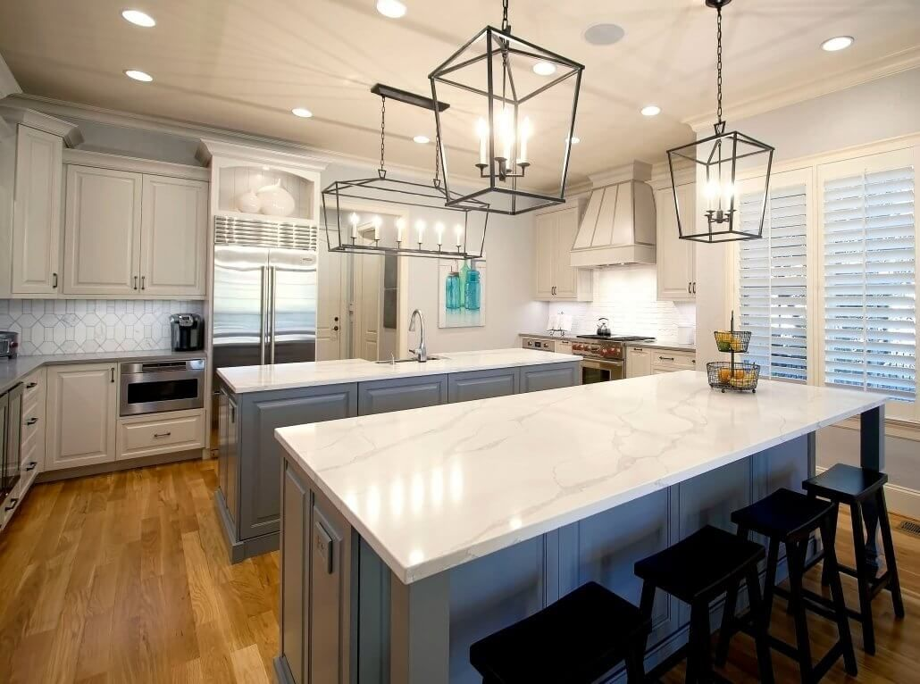 Kitchen Remodel Grey Cabinets Barn Door Two Islands Kitchen Lighting Ideas Hardwo Cheap Kitchen Remodel Simple Kitchen Remodel Inexpensive Kitchen Remodel