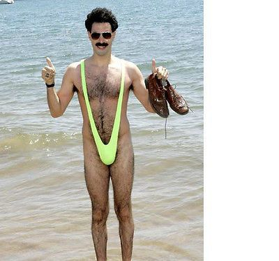 Medium Size Male Wet Costumes, Reenactment, Theater Underwear Look Mankini .....by Fr Carefully Selected Materials