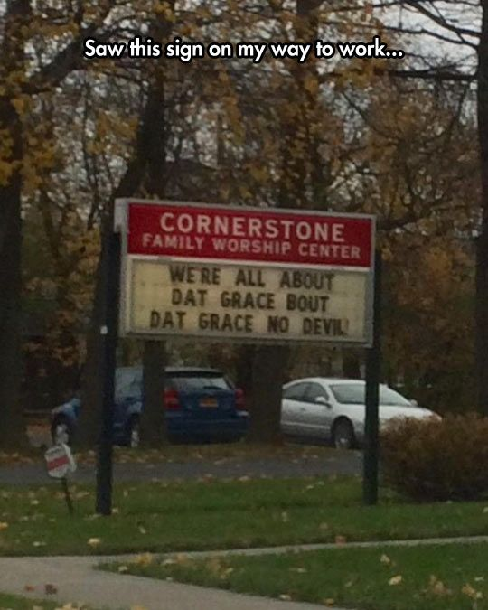 The Church Is Getting With The Times
