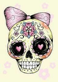 Girly skull wallpaper skulls wallpaper pinterest skull wallpaper girly skull wallpaper voltagebd Choice Image