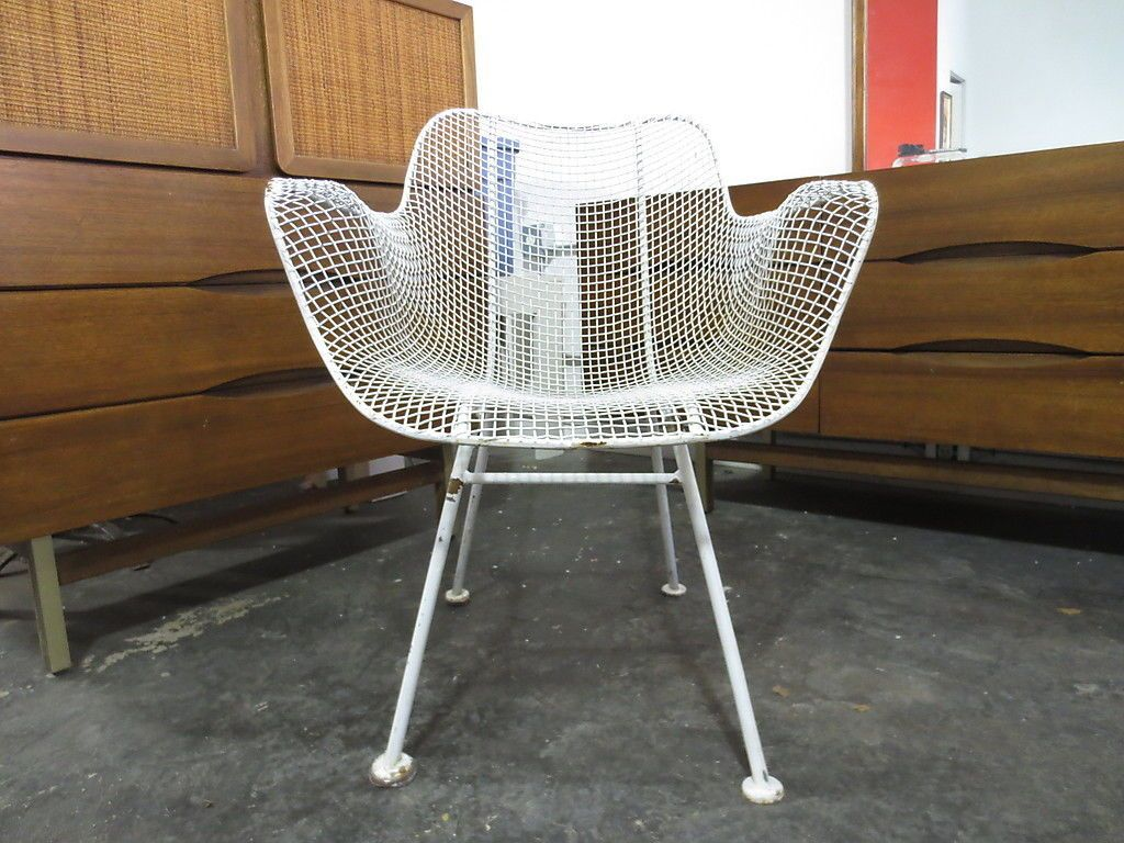 Mesh Patio Chairs Russel Woodard Sculptura Wire Mesh Patio Lounge Chair