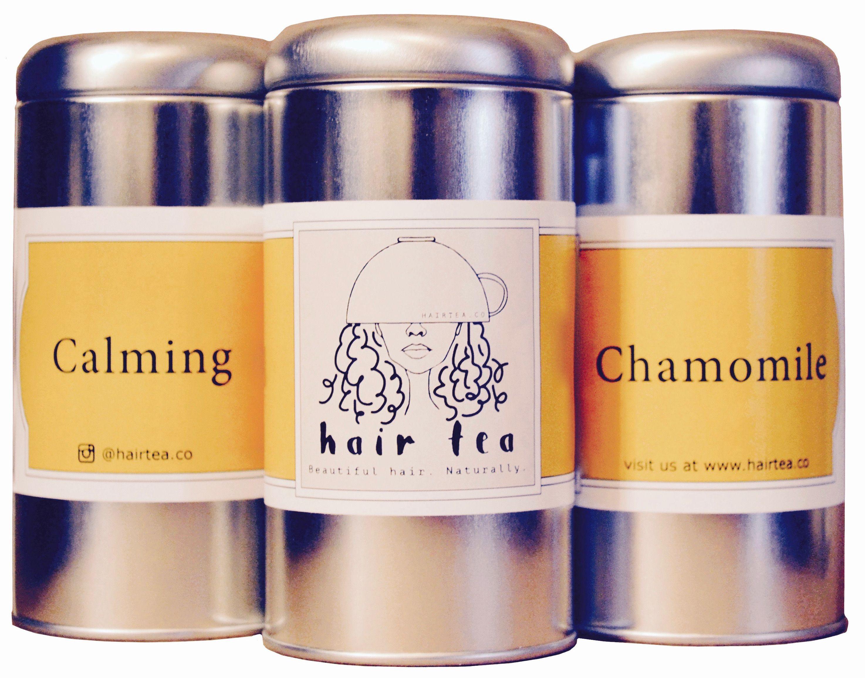 Calming Chamomile. The perfect hairtea for hair that