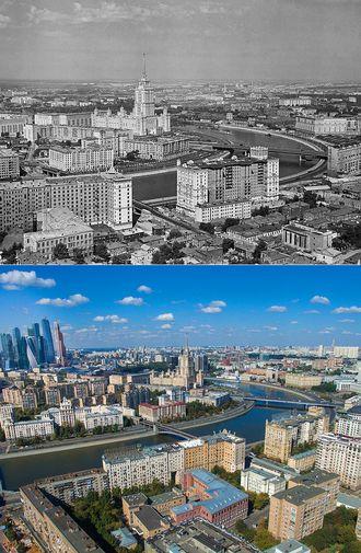 Фото: Москва сквозь время | Идеи картины, Старые ...