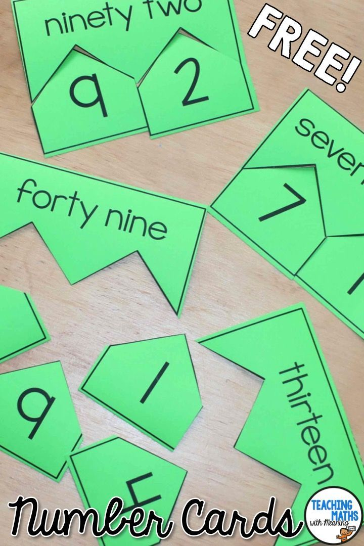 2 Digit Break Up Cards (With Images) Math, Games For Grade 1, Math For  Kids