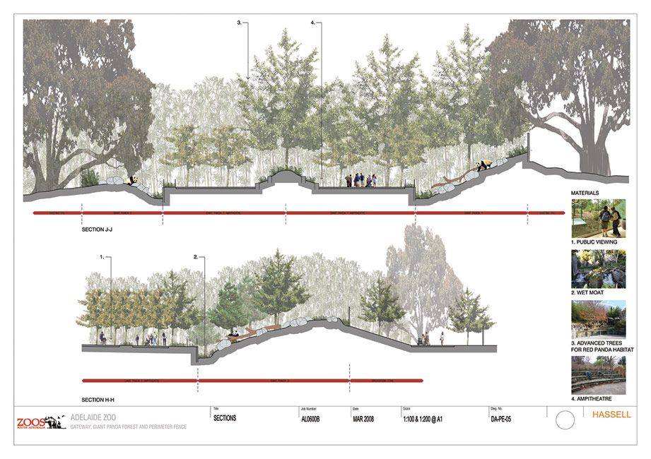 AdelaideZoo_HASSELL_Section « Landscape Architecture Works
