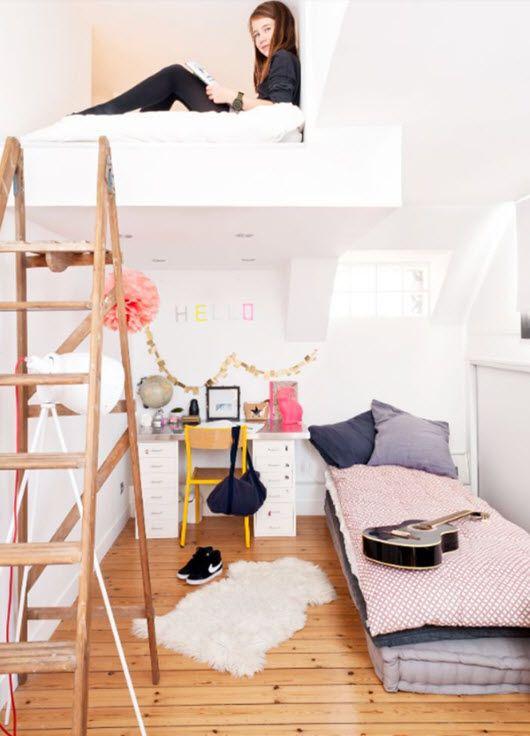 déco chambre Chambre Pinterest Deco chambre, Chambres et Ado