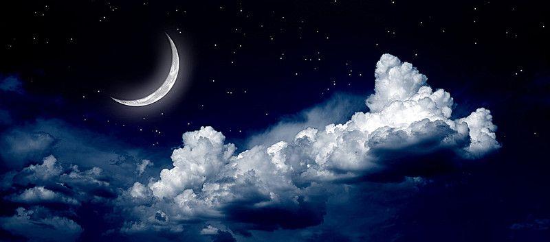 Luna Zvezdy Kosmicheskie Zvezdy Fon Aesthetic Space Night Clouds Night Aesthetic