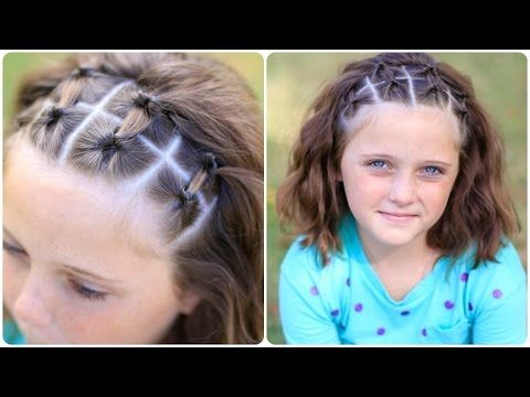 10 Quick And Easy Hairstyles For School Girls Momooze Little Girl Hairstyles Easy Hairstyles Sporty Hairstyles