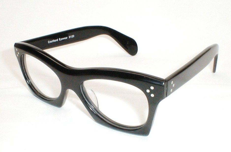 e183d5eaa6 Black Thick Vintage Esquivel Buddy Holly Eyeglasses 4 .JPG 939×618 pixels  Kirk Originals