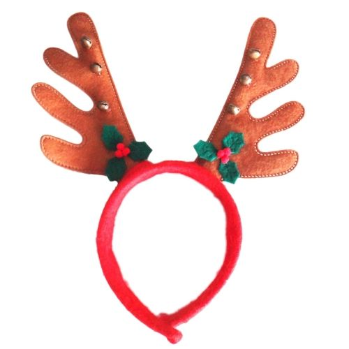 Gift Craft Fabric Christmas Antlers Headband