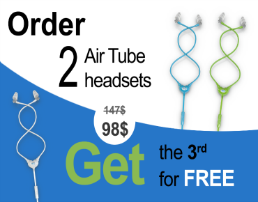 Come get crazy sales on Air Tube Headsets from our brand new website  www.smart-safe.com