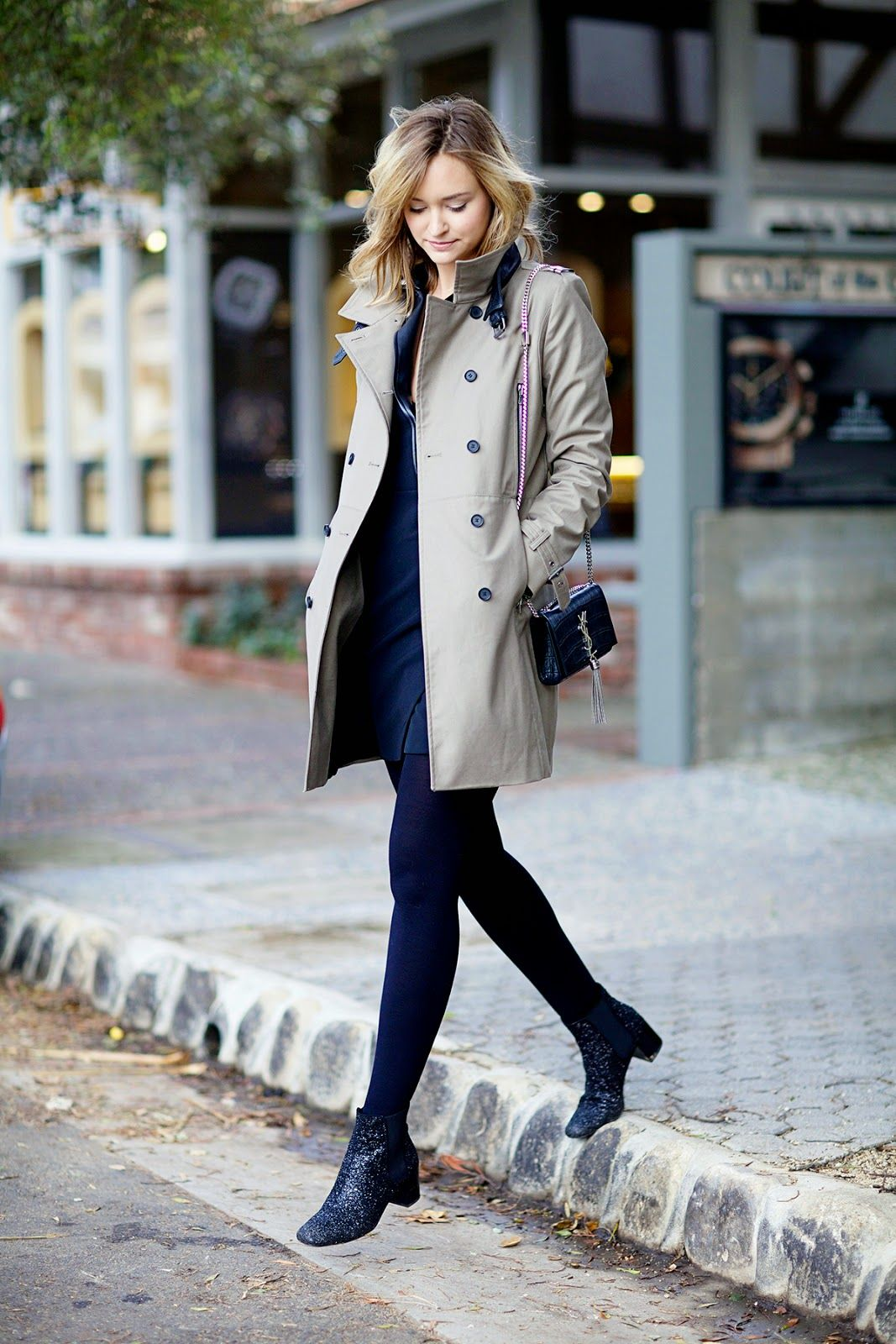 Late Afternoon - The Kooples trench coat
