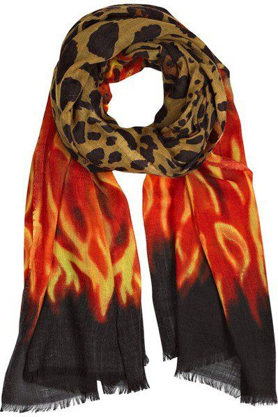 I have to get this scarf one way or another.. By Jimmy Choo