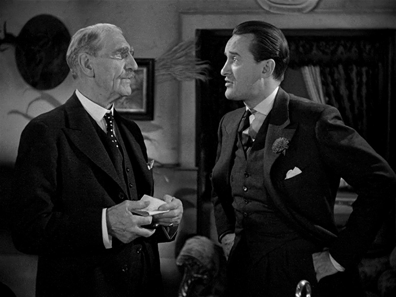 George Sanders and C. Aubrey Smith in Rebecca (1940) | Hollywood ...