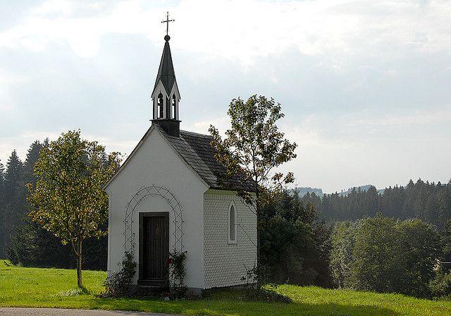 Blackforest Germany Roadside Church Church Steeple Church Country Church
