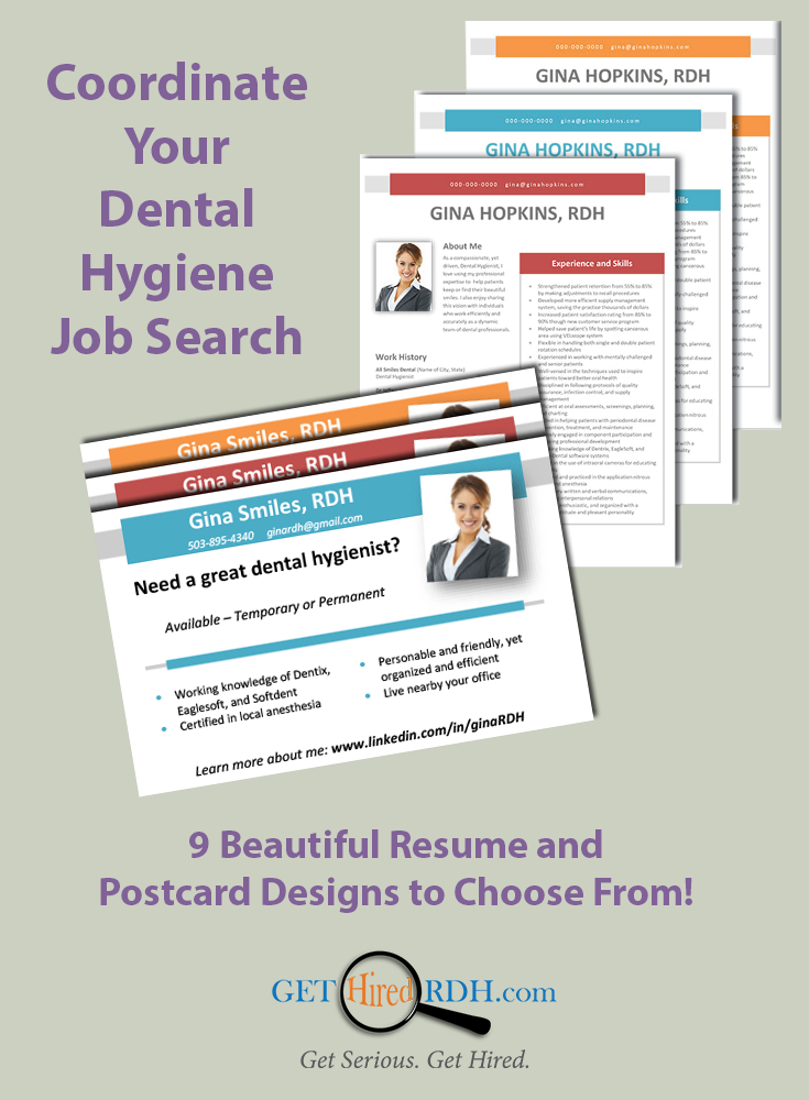 A Boring Resume Just DoesnT Cut It In TodayS Dental Hygiene Job