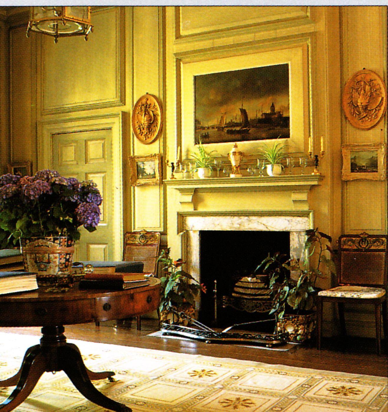 Spencer house interior georgian classic interior for Charlotte interiors