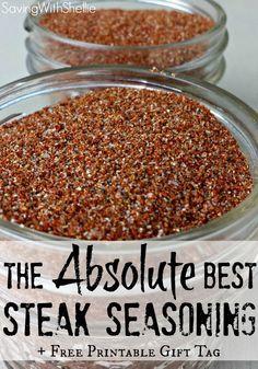 The Best Homemade Steak Seasoning
