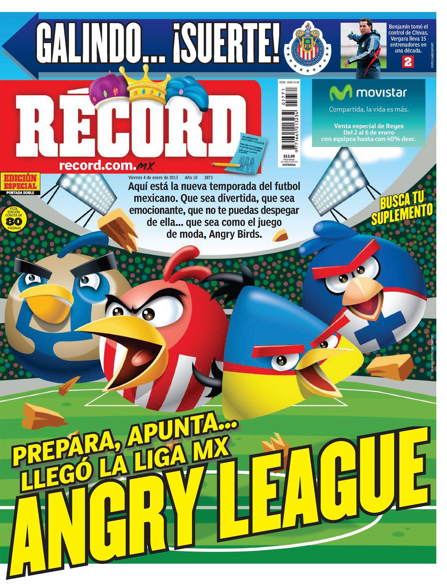 Las mejores portadas del 2013: 'Angry League', la previa del torneo del 4 de enero