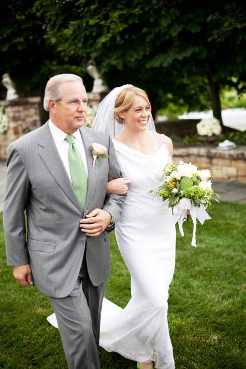 Green And White Backyard Wedding In Virginia By DC Wedding Planner  Bellwether Events