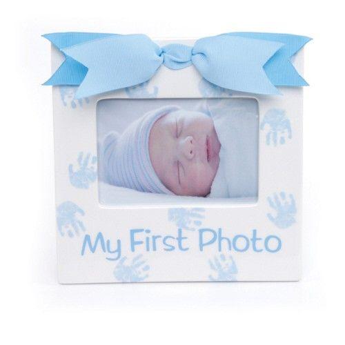 PRINCE 1ST FRAME - $16.99 #mudpie #boypictureframe #mommygift #showergift #littleboys #justborn #babyideas