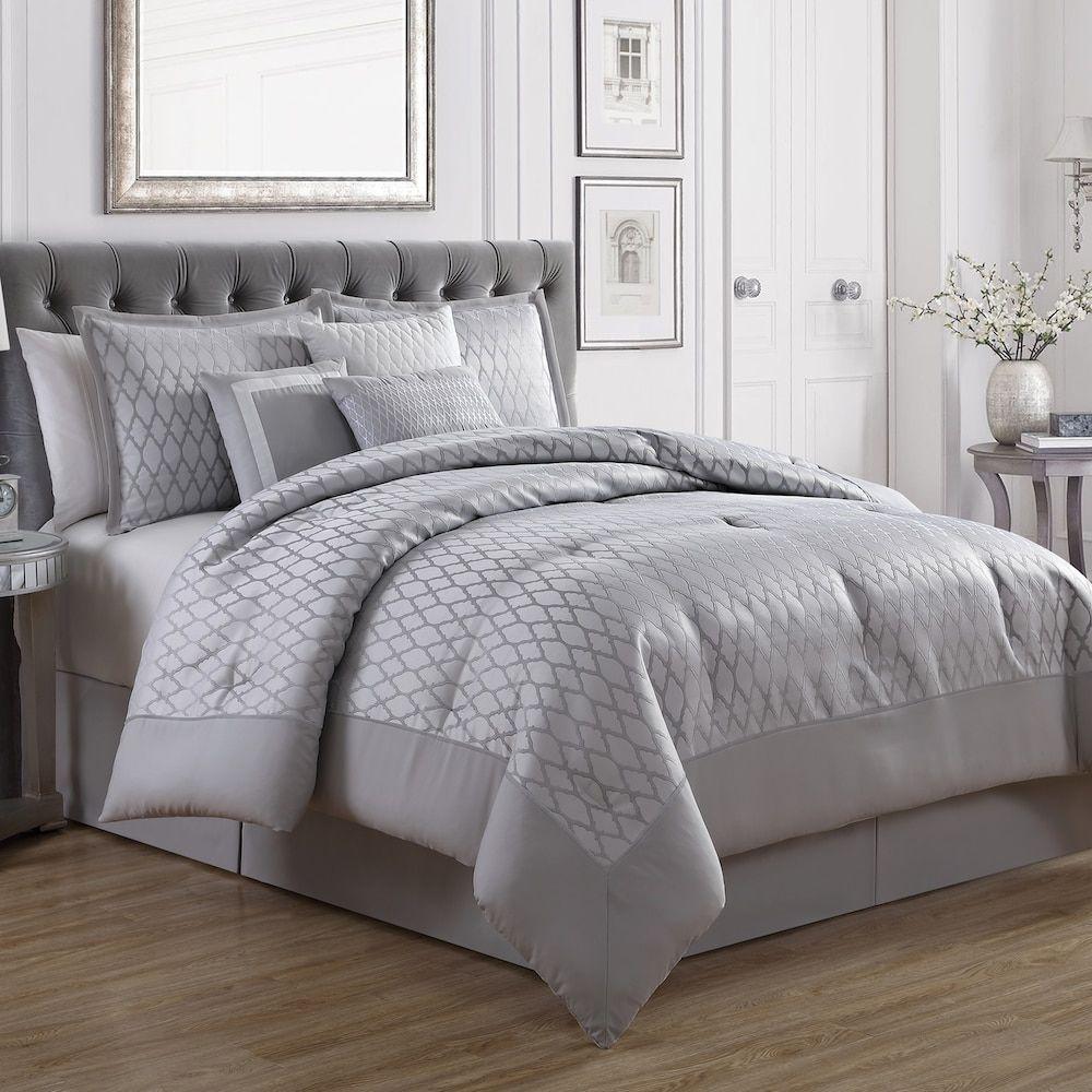 Patrice 7piece Comforter Set, Multicolor Bed linens