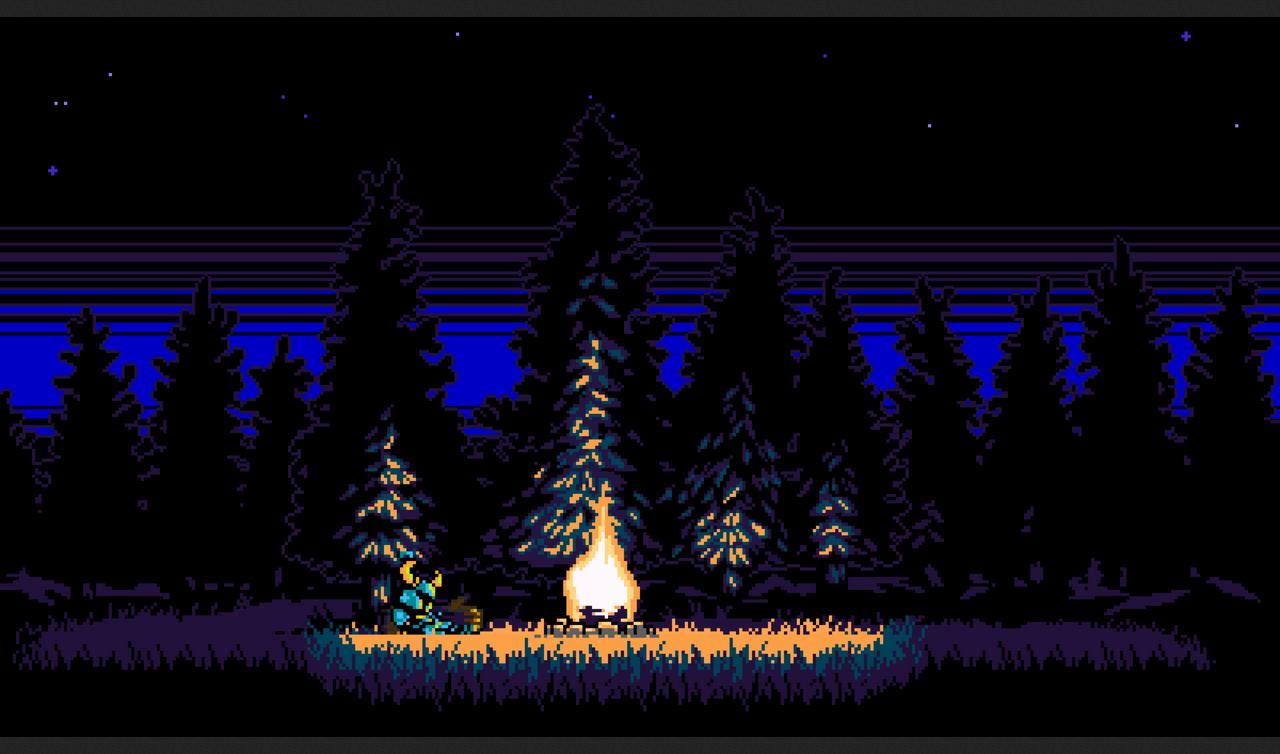 The Game Is Shovel Knight Unless You Re Asking About Something Within Shovel Knight In Which Case I Don T Know Pixel Art Retro Games Wallpaper Shovel Knight