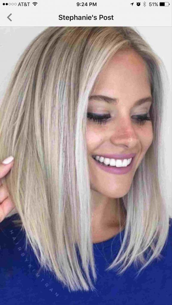 Rhpinterestcouk Blond Angled Bob Haircut With Side Bangs Inverted Long Bob Haircuts Angled Bob Haircuts Bob Hairstyles For Round Face