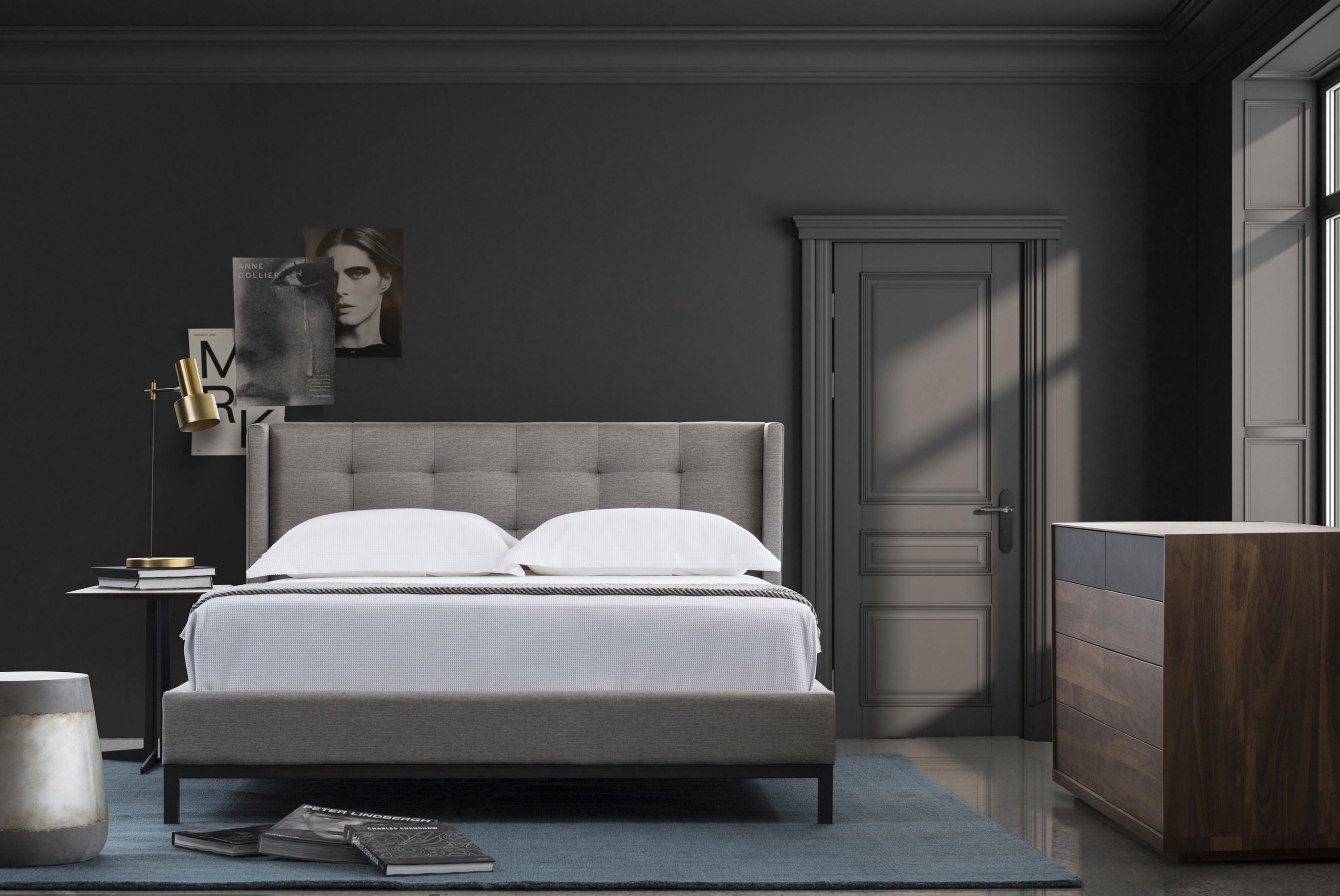 Newhall Lit Bed Home Furniture