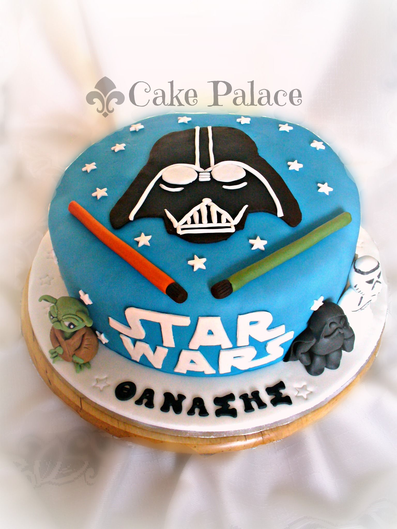 Children S Birthday Cakes Star Wars Cake Cakes