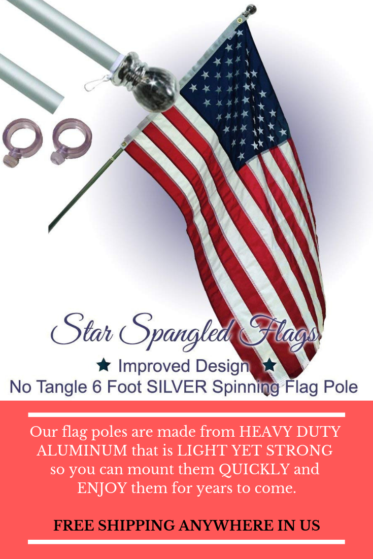 Flagpoles Sales Buy Best Star Spangled Flags Flag Pole Flag Best Flags