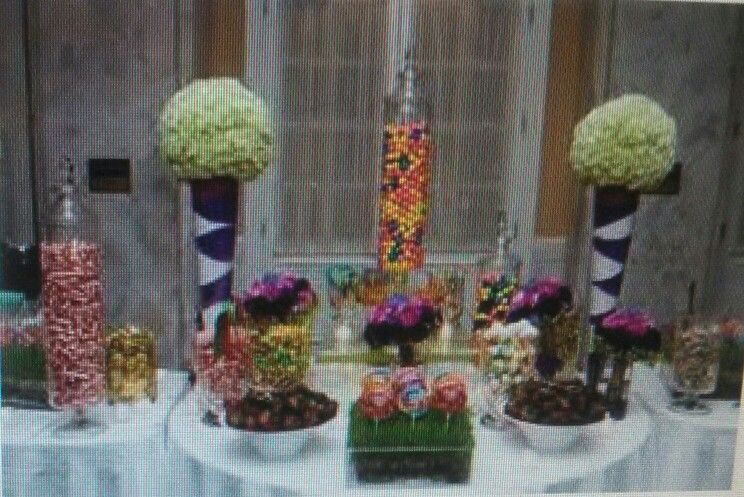 Pretty Candy Bar Ideas Pinterest