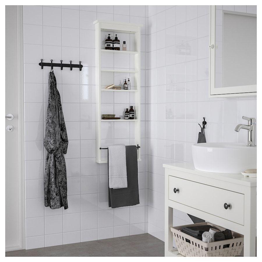 Hemnes Wall Shelf White 16 1 2x46 1 2 Idee Bagno Piccolo