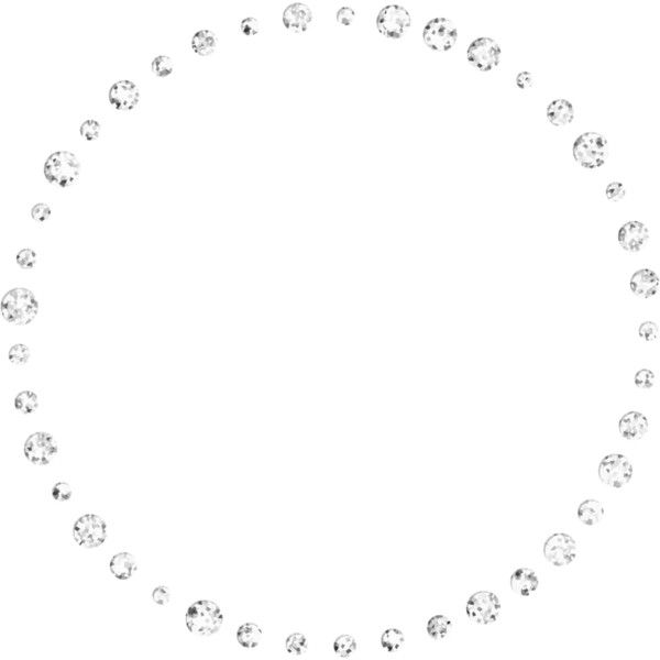 Bling Circle Png Silver Picture Frames Circle Bling Design