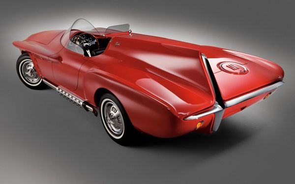 1960 Plymouth XNR Сoncept Car