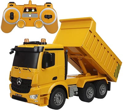 Top 10 Best Remote Control Trucks In 2020 Reviews Amaperfect Remote Control Trucks Dump Truck Toy Trucks