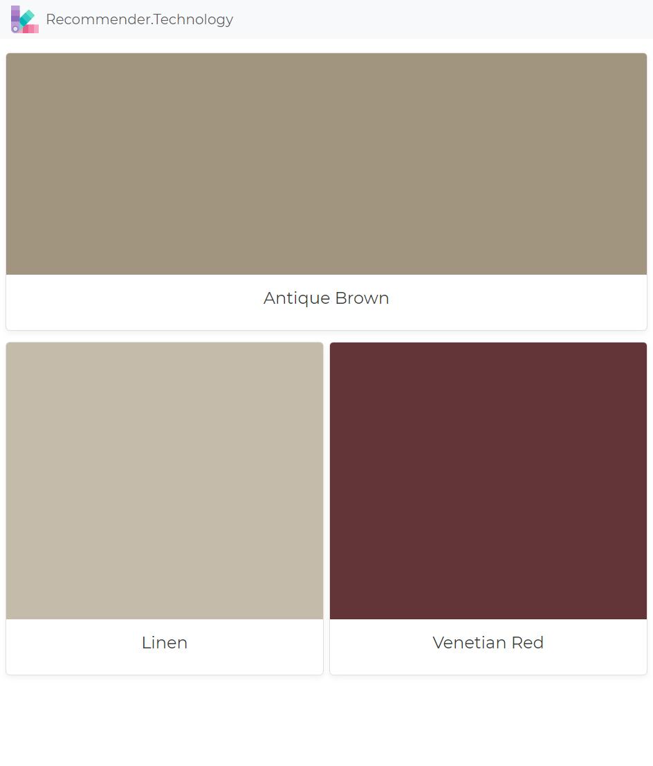Antique Brown Linen Venetian Red Ralph Lauren Paint Colors Color Palettes