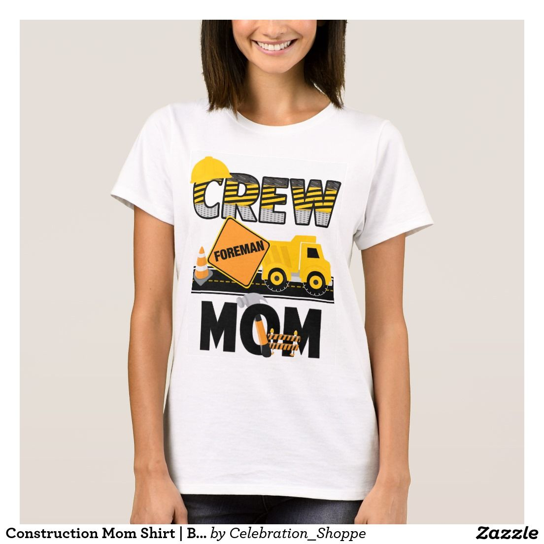 Construction Mom Shirt