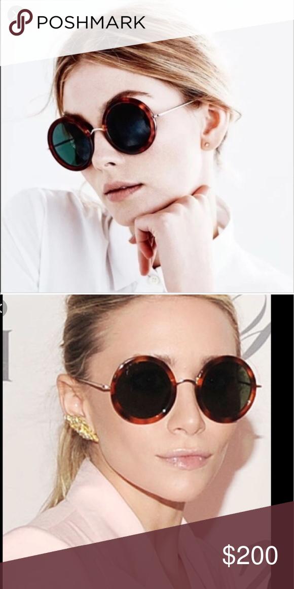 4b0890ad4da Linda Farrow X The Row Tortoiseshell Sunglasses These are eternally chic