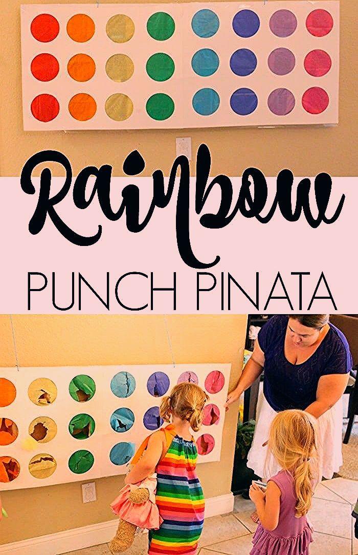 Photo of Rainbow Punch Pinata