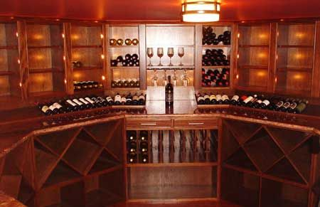 We Can Design Your Bar, Wine Cellar, Cheese Room, And Cigar Humidor.