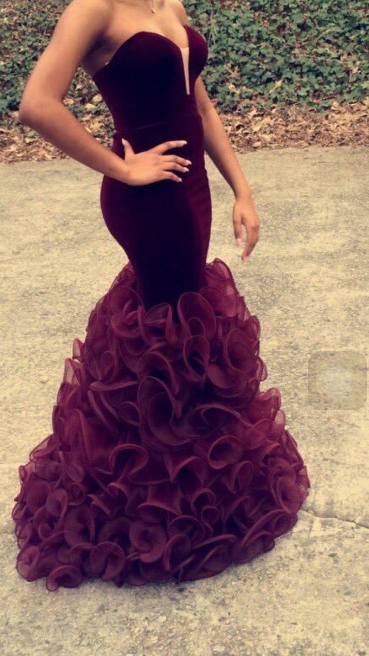Cute Prom Dress Dark Purple Prom Dresses Mermaid Prom Dresses Prom Girl Dresses