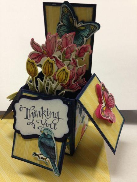 Card in a box -  Eva Gail Lowe SK. Canada