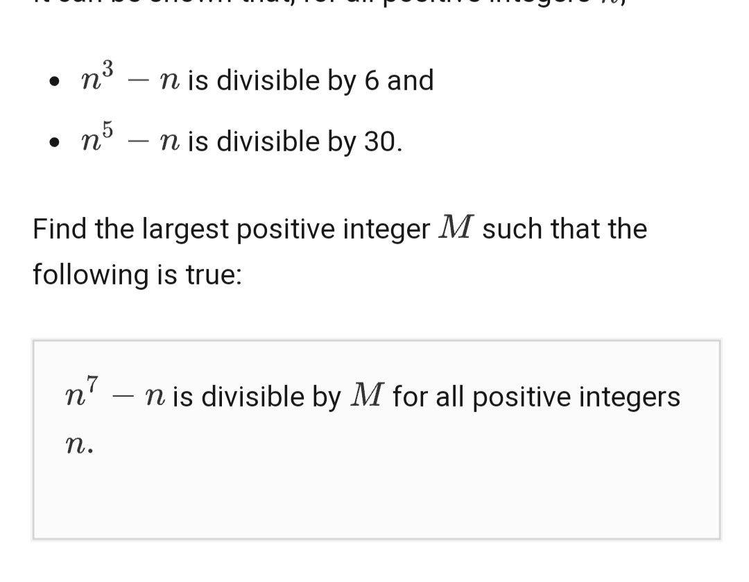 Fermat S Little Theorem Theorems Math Positivity