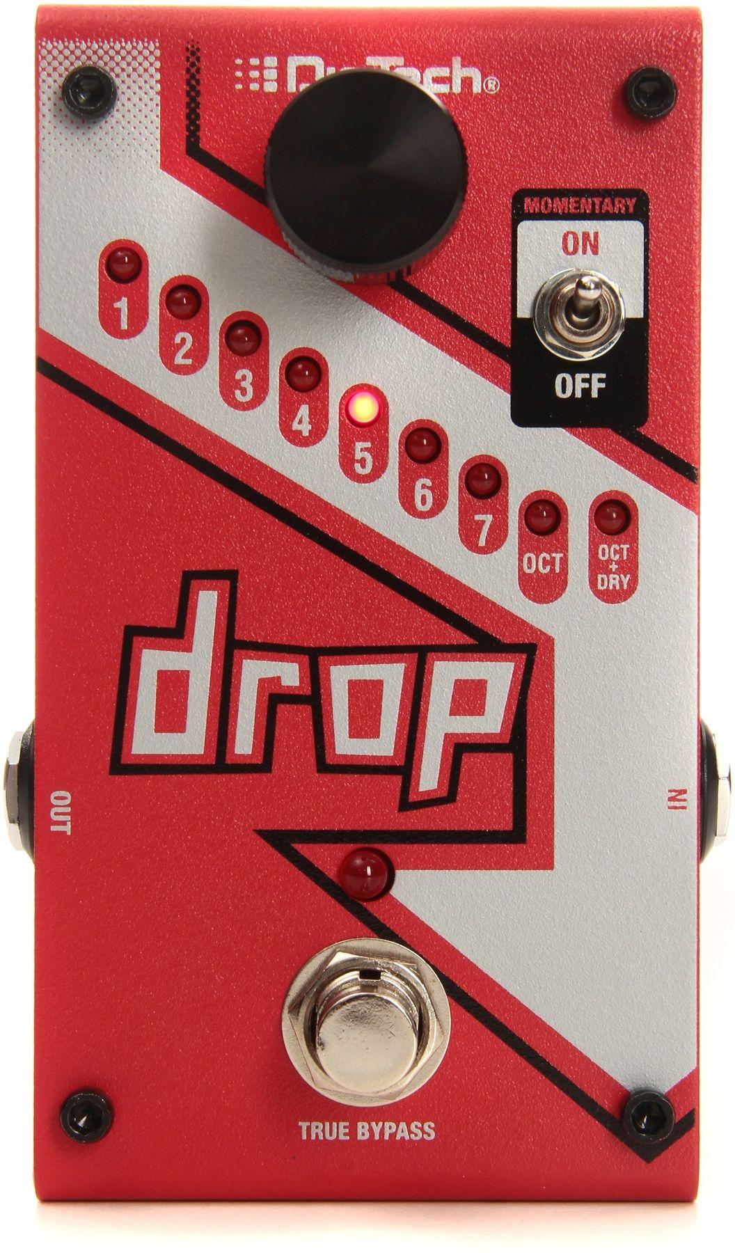 Digitech drop polyphonic drop tune pitchshift pedal