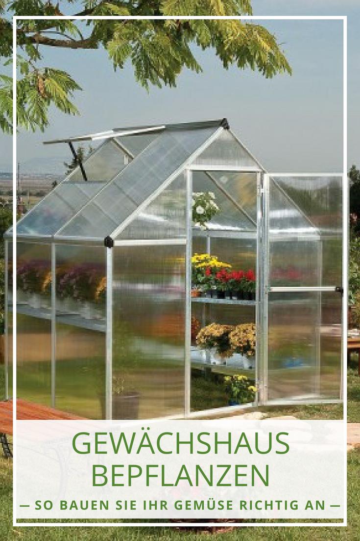 Gewachshaus Bepflanzen Anleitung Fur Den Gemuseanbau Upcycling