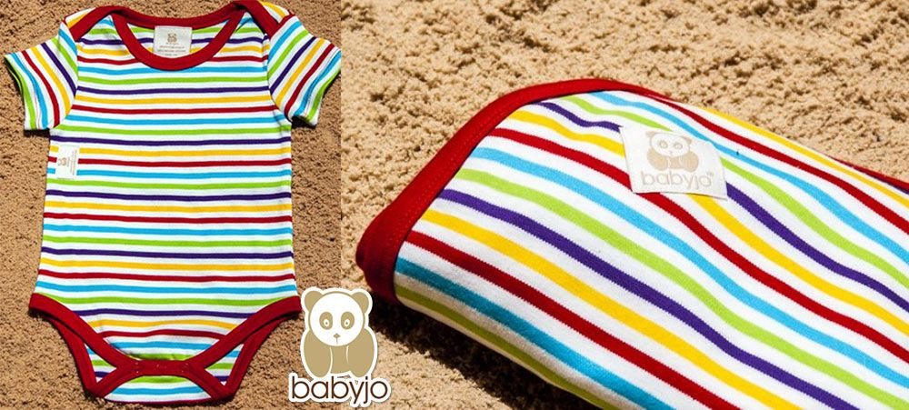 New tropical reef organic cotton baby range in stores now <3 www.babyjo.com.au