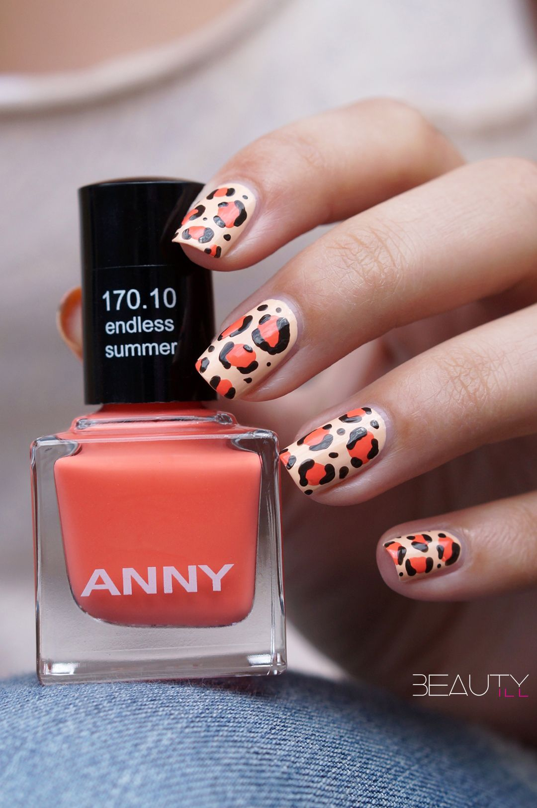 Anny Cruising In Miami Leopard Nail Art Nailart By Beautyill