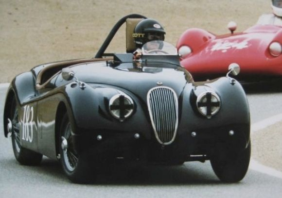 1952 Jaguar XK120 Roadster OTS Vintage Race Car For Sale Track