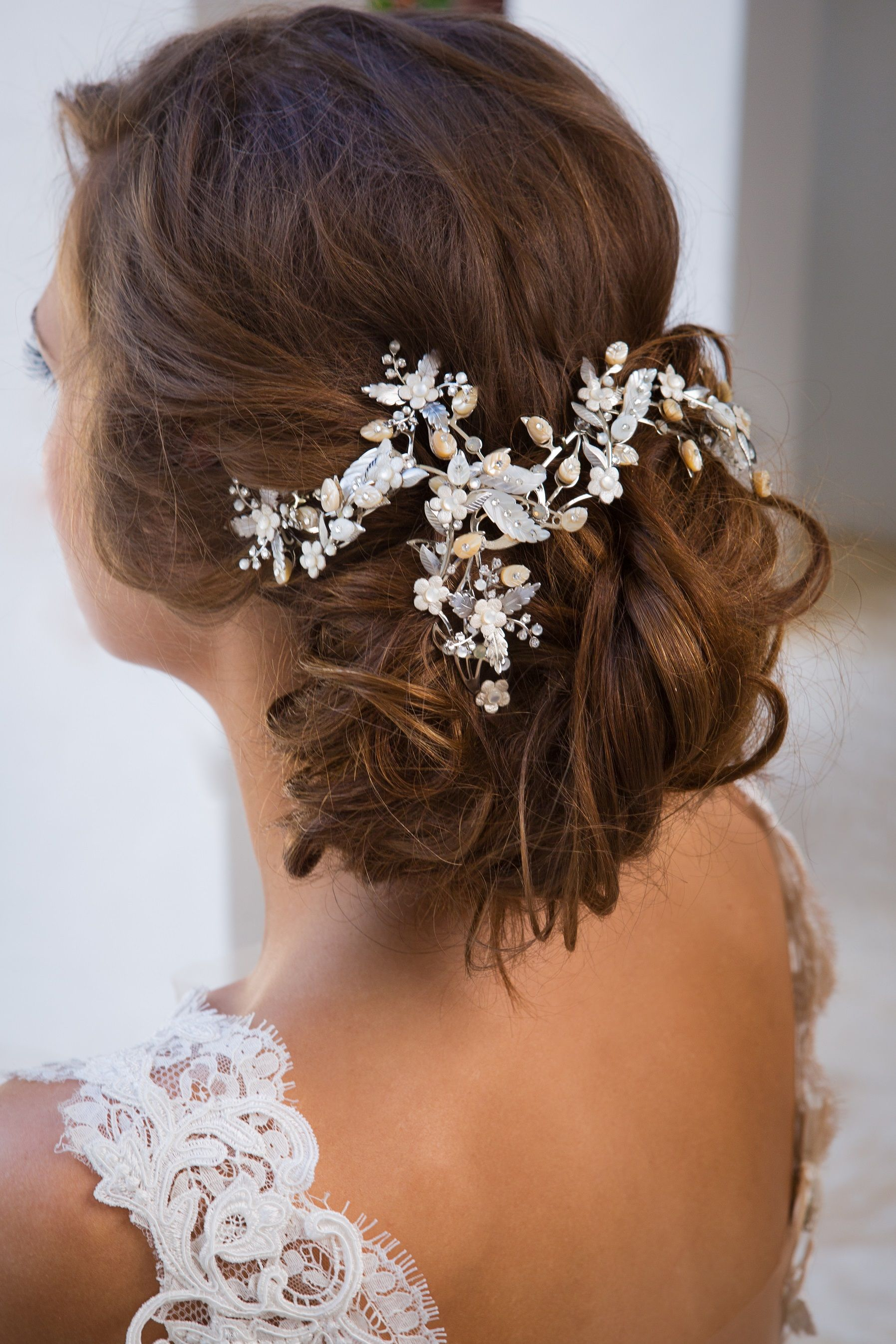 maria elena headpieces & accessories from solutions bridal. vintage